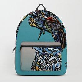 Dragon Cat (Color) Backpack