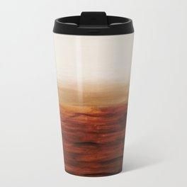 Desert Waves Metal Travel Mug