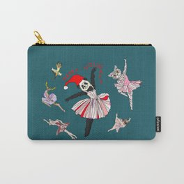 Hipster Holiday Ballerinas Carry-All Pouch