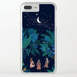 mystery Clear iPhone Case