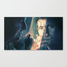 Walter and Peter Canvas Print