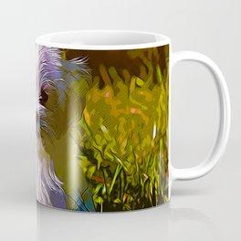 maltese dog vector art Coffee Mug