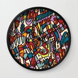 Jammin' Good Wall Clock