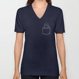 Y Tho Meme Pocket T-Shirt | Y Tho Tee Unisex V-Neck