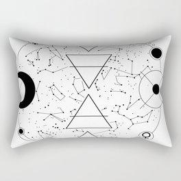 Celestial Alchemical Earth Rectangular Pillow