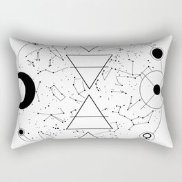 Celestial Alchemical Earth Rectangular Pillow