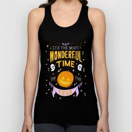 Halloween: The Most Wonderful Time of the Year  Unisex Tank Top