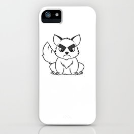 """I Hate Everyone Funny Cat"" tee for fur parents and pet lovers out there! Cutest gift ever!  iPhone Case"