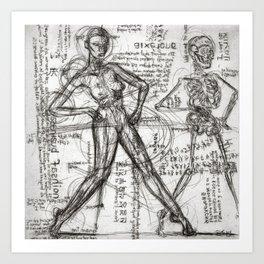 Clone Death - Intaglio / Printmaking Art Print