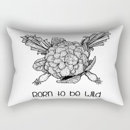 Born to be wild Rectangular Pillow