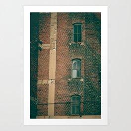 CRUMBLE//001 Art Print