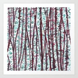 ABS-Pattern Art Print