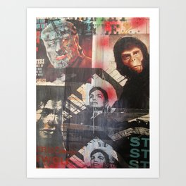 Stereo Jackie Art Print