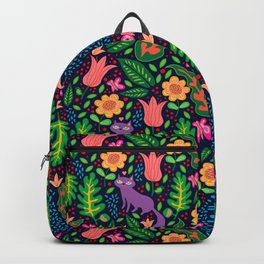 Night Cat Backpack