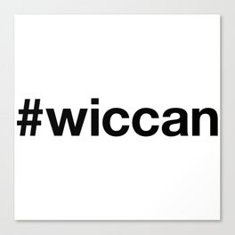 WICCA Canvas Print