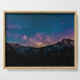 Galaxy Mountain Serving Tray