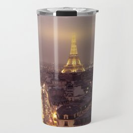 Paris at night Travel Mug