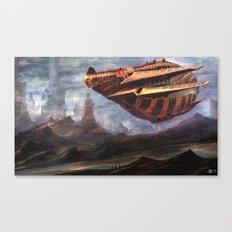 mother ship Canvas Print