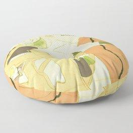"""Henri de Toulouse-Lautrec """"Couverture de l'estampe originale"""" Floor Pillow"""