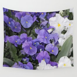 Violets Wall Tapestry
