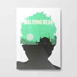 The Walking Dead - Season 2 Poster Metal Print