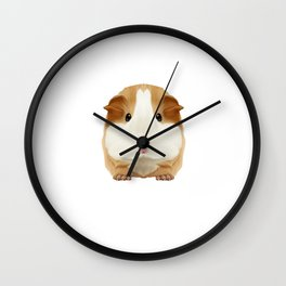 Guinea Pig Just A Girl Loves Wheek Gift Idea Wall Clock