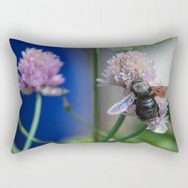 Carpenter Bee 1 Rectangular Pillow