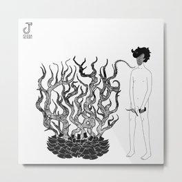 Cartas al viento // Frío Estelar Metal Print