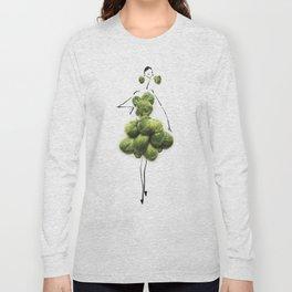 Edible Ensembles: Green Sprouts Long Sleeve T-shirt