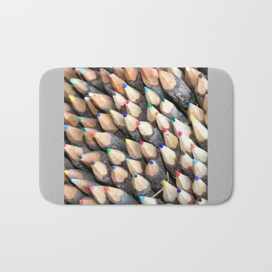 Wish you a colorful day Bath Mat