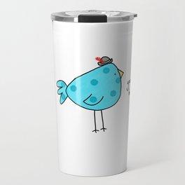 Sassy Bird Travel Mug