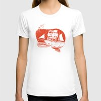moby dick T-shirts featuring Moby Dick by Paul McCreery