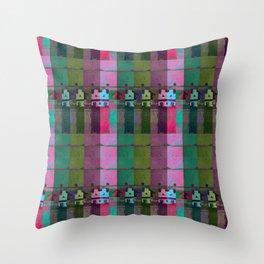 moje miasto_pattern no1 Throw Pillow