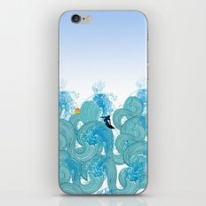 surfing 2 iPhone & iPod Skin