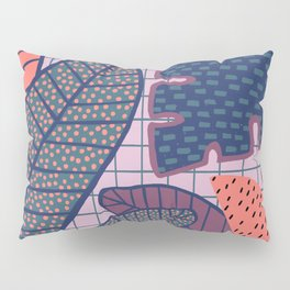 Palm & Monstera Leaves Pillow Sham