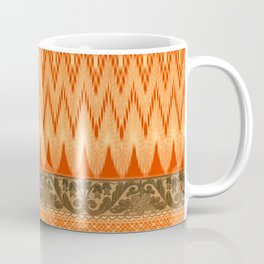 crochet mixed with lace in warm mood Coffee Mug