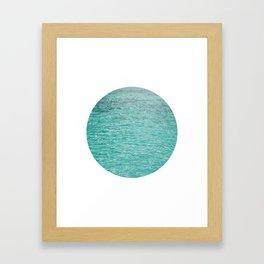 Water 3 Framed Art Print