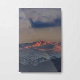 """""""Tosal Del Cartujo at sunset"""". 3152 Meters Metal Print"""
