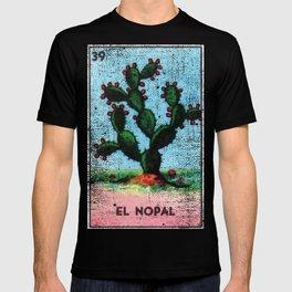 El Nopal Mexican Loteria Bingo Card T-shirt