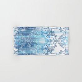 Fading Blue Design Hand & Bath Towel