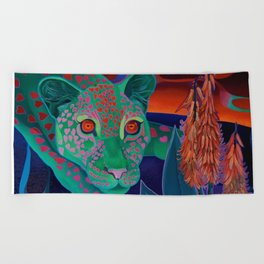 Whispers of the night. Beach Towel