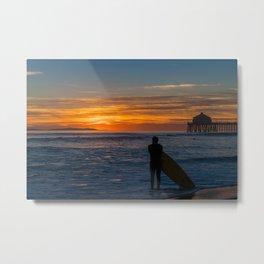 Sunset Satisfaction Metal Print