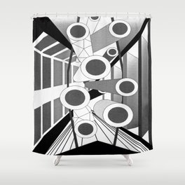 The Commons Shower Curtain