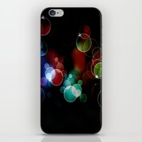 the lights iPhone & iPod Skins featuring Lights by Digital-Art