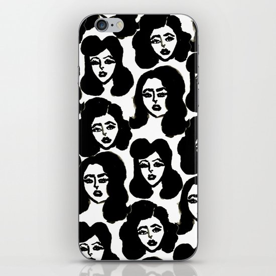 Retro Girls iPhone & iPod Skin