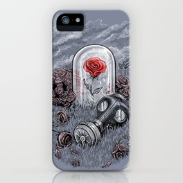 The Last Flower On Earth iPhone Case