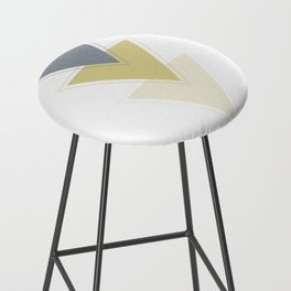 Joined Triangles Bar Stool
