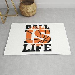 Ball is Life Rug