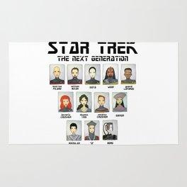 STAR TREK THE NEXT GENERATION Rug