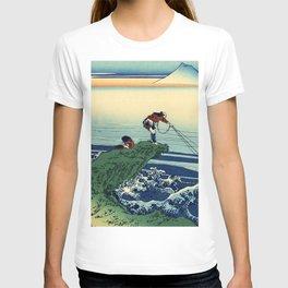 "Hokusai (1760-1849)  ""Kajikazawa in Kai Province"" T-shirt"